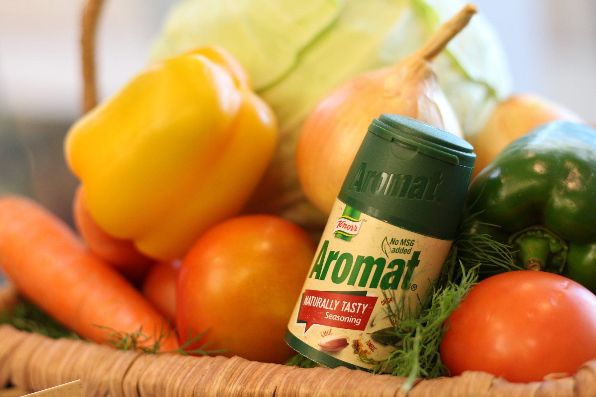 Aromat Naturally Tasty Packaging 2