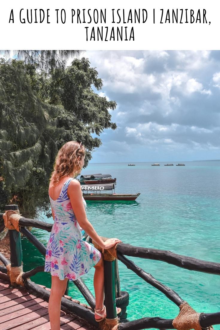 a guide to prison island Zanzibar