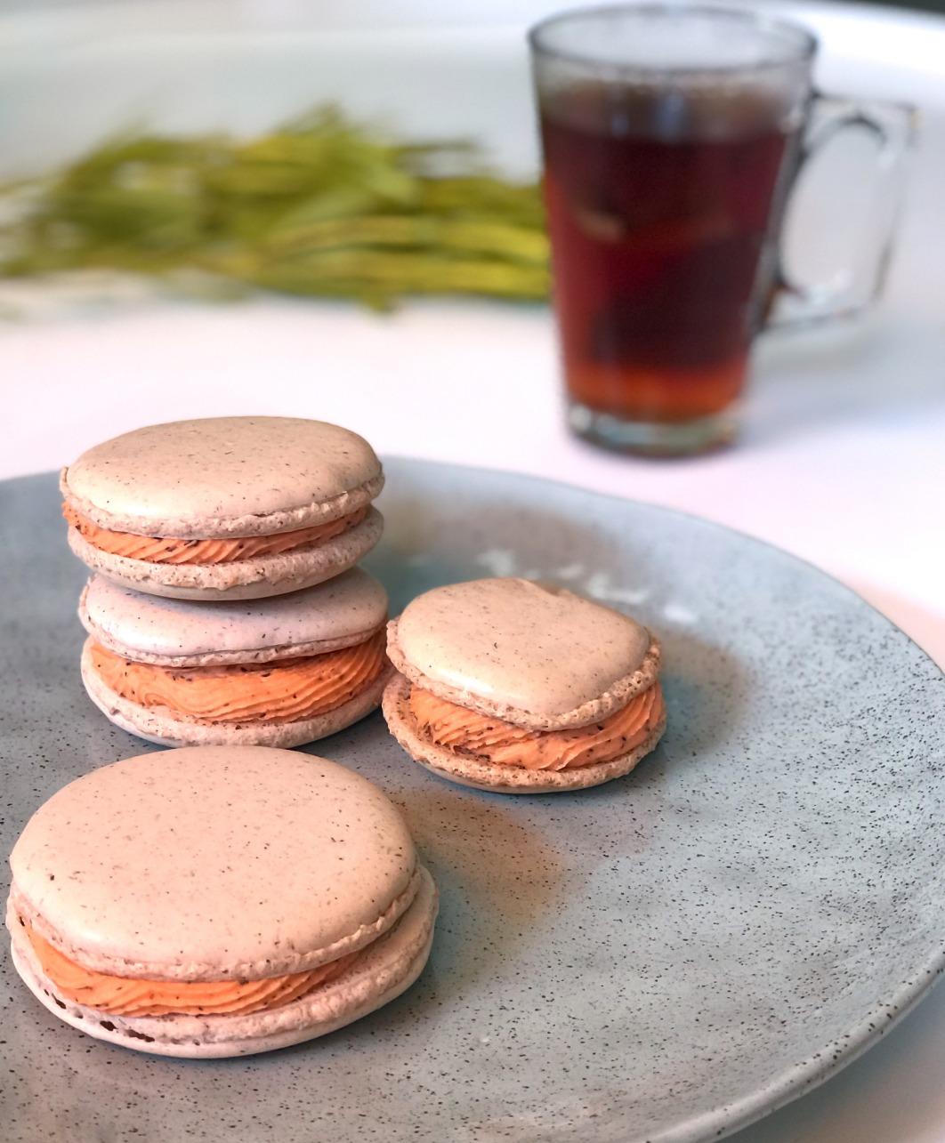{Baking Bliss} Rooibos Macarons 13