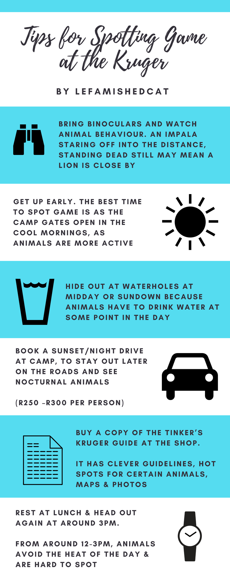 Spotting Game Tips