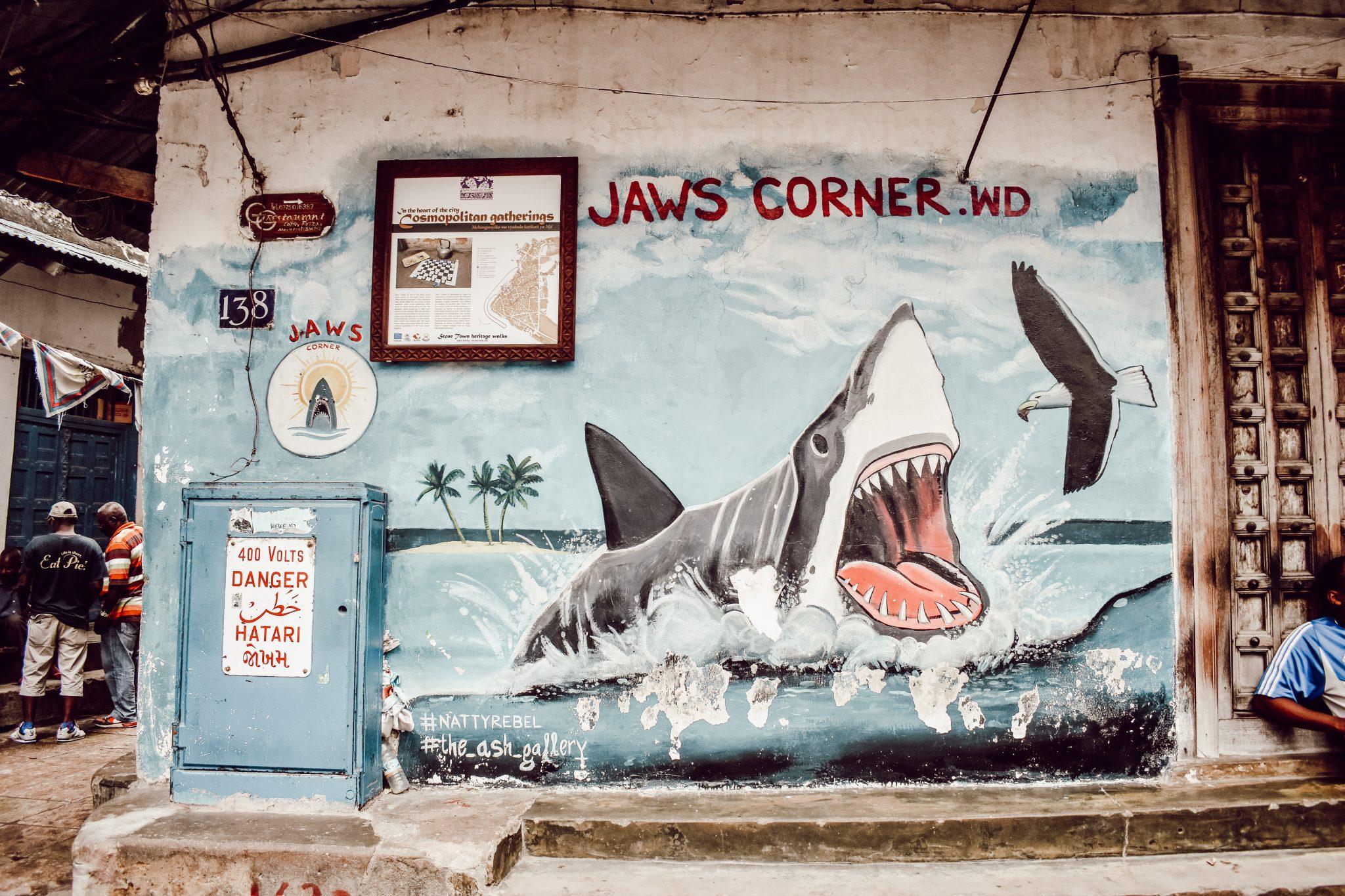 Jaws Corner, Zanzibar