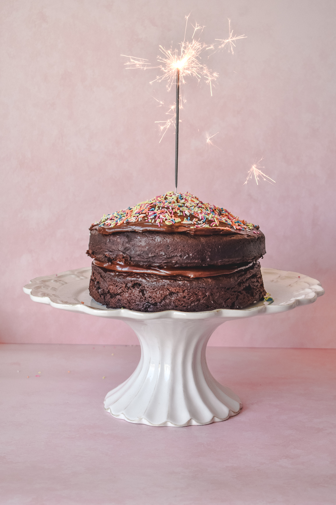 Amazing Gluten Free Chocolate Birthday Cake And 30 Things I Now Know Funny Birthday Cards Online Hendilapandamsfinfo