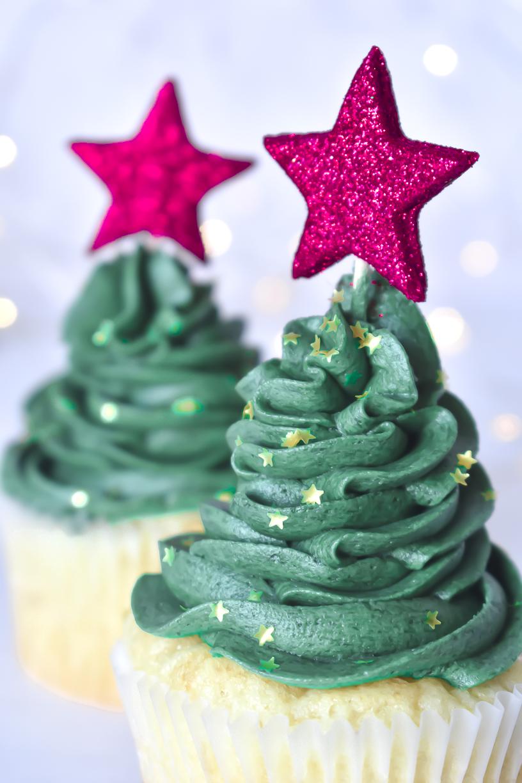 Gluten Free Christmas Cupcakes