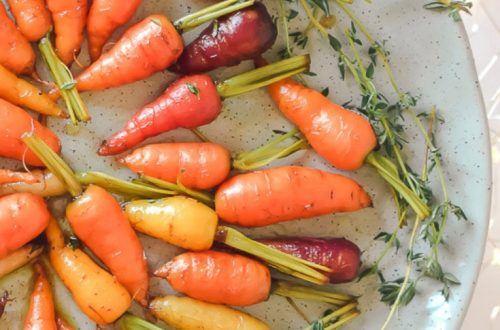 Maple Glazed Carrots with Thyme 12