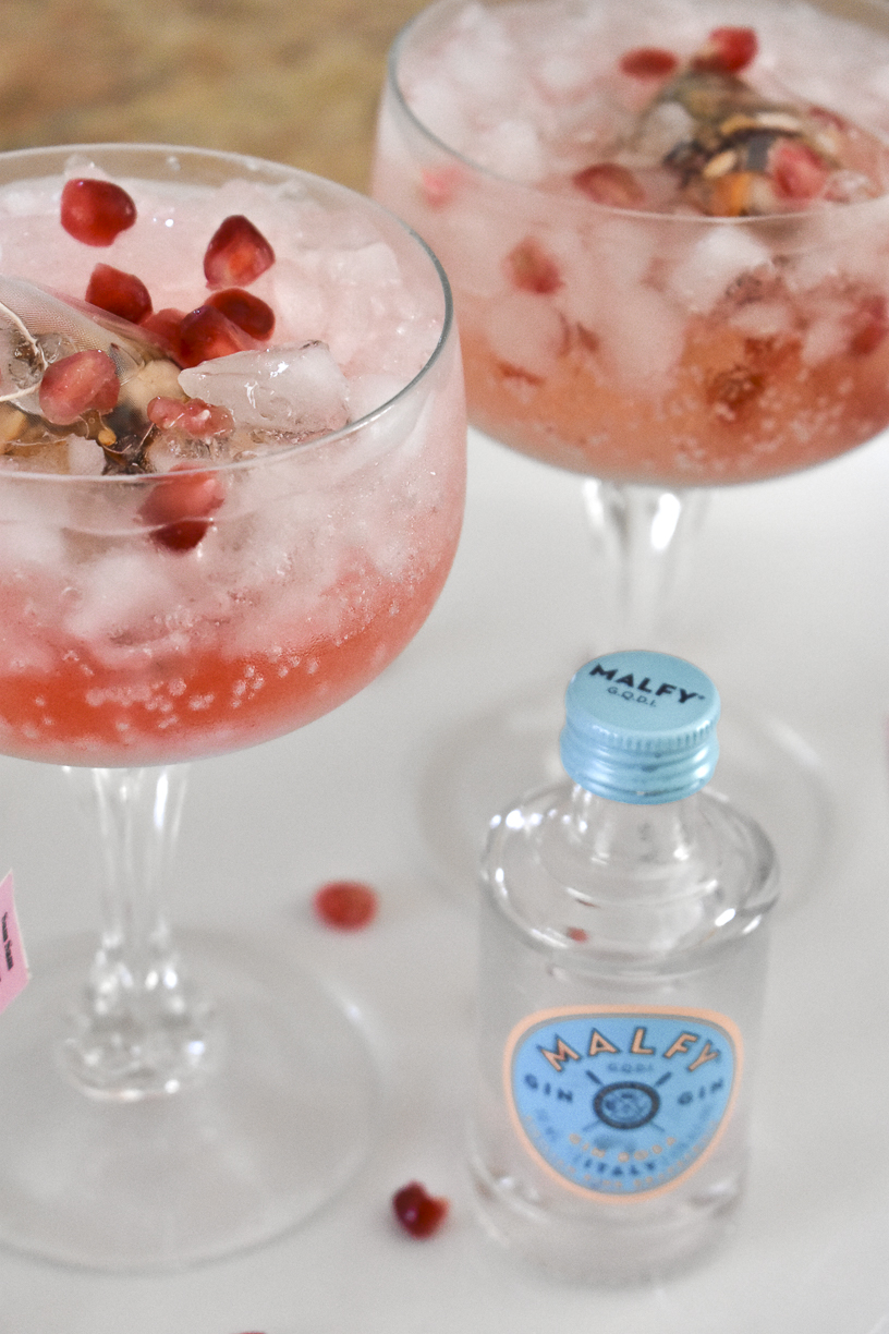 Malfy Gin Cocktails with Pomegranate