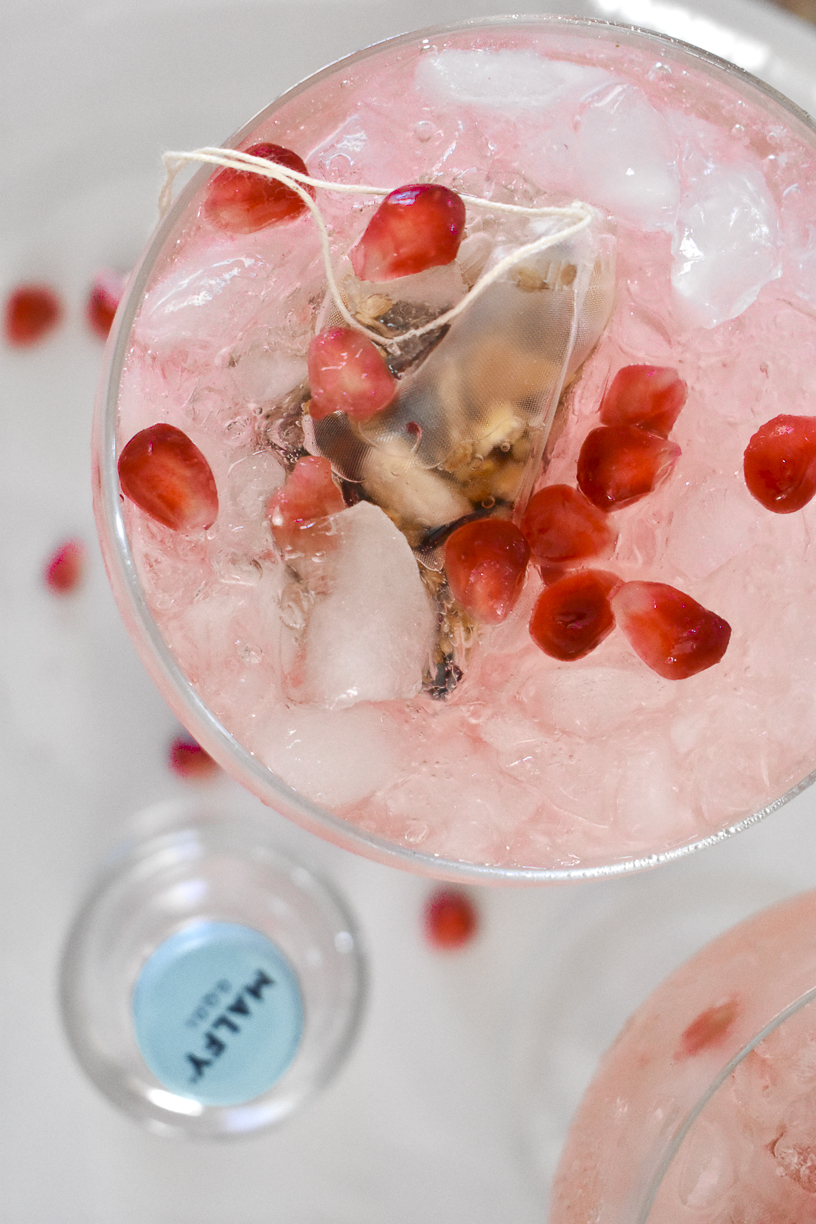 Malfy Gin Pomegranate Cocktail