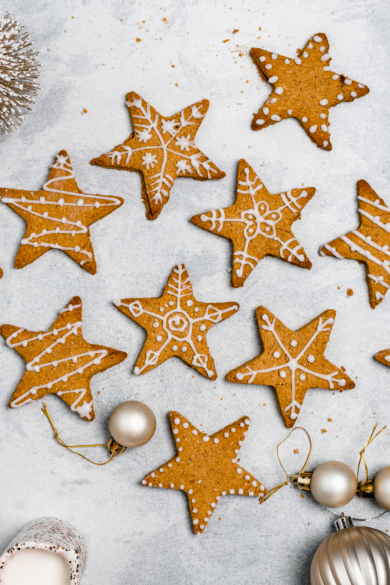 Gluten Free Christmas Gingerbread Cookies
