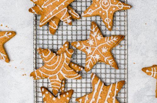 Gluten Free Christmas Gingerbread Cookies 10