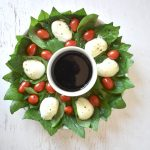 24 Days of Christmas - Caprese Wreath 4