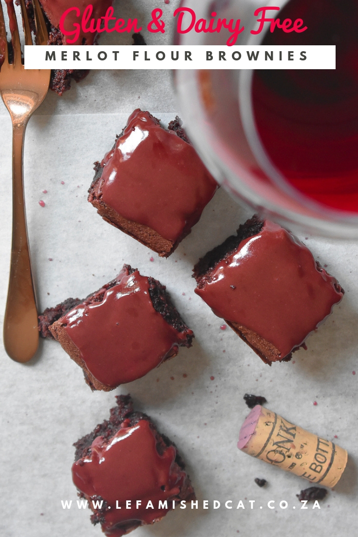 Merlot and Chocolate Brownies