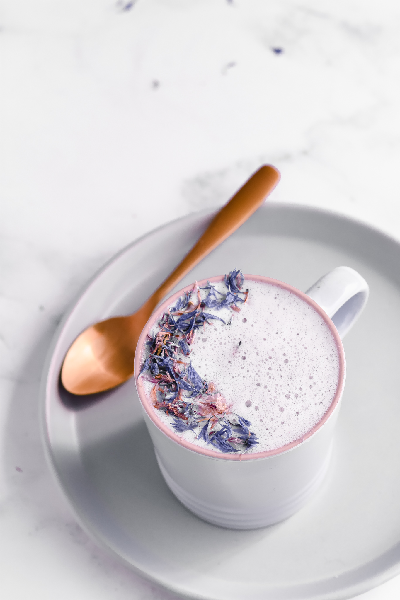Sleep Easy with a Cup of Blueberry Moon Milk