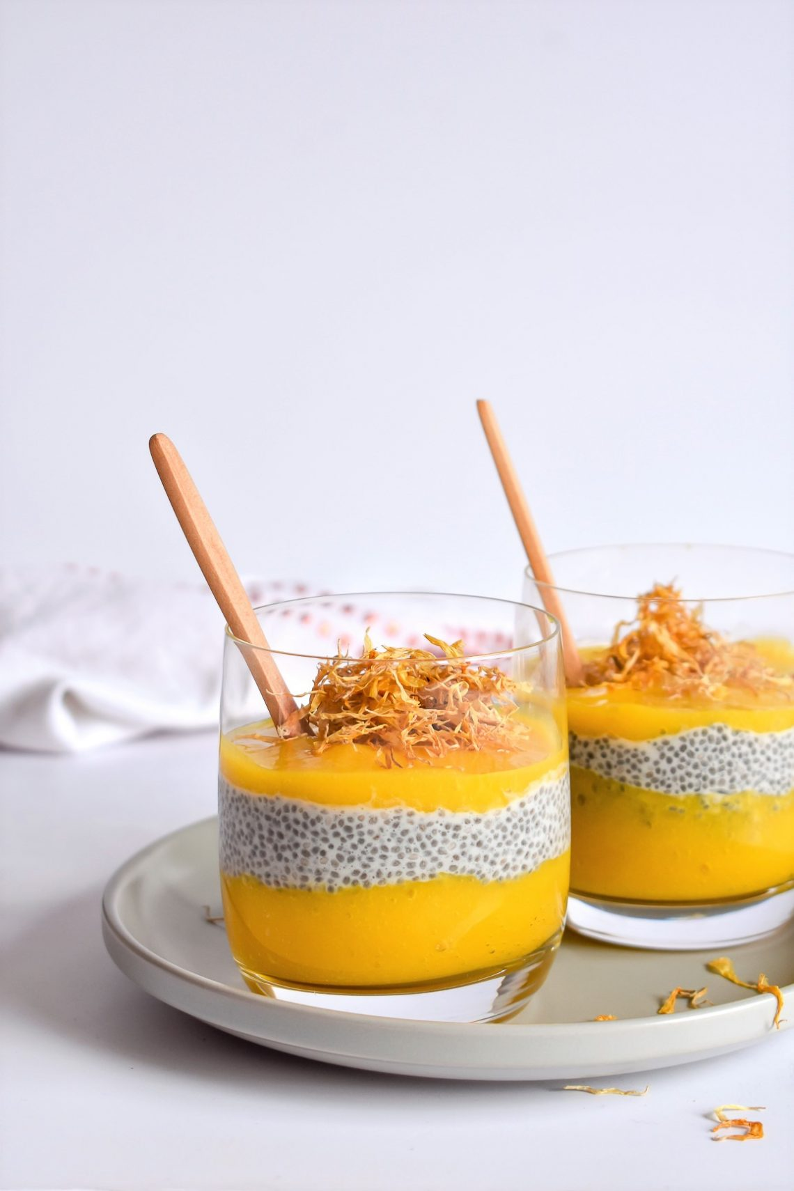 Mango & Coconut Chia Pudding