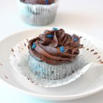 Blue Matcha & Chocolate Cupcakes