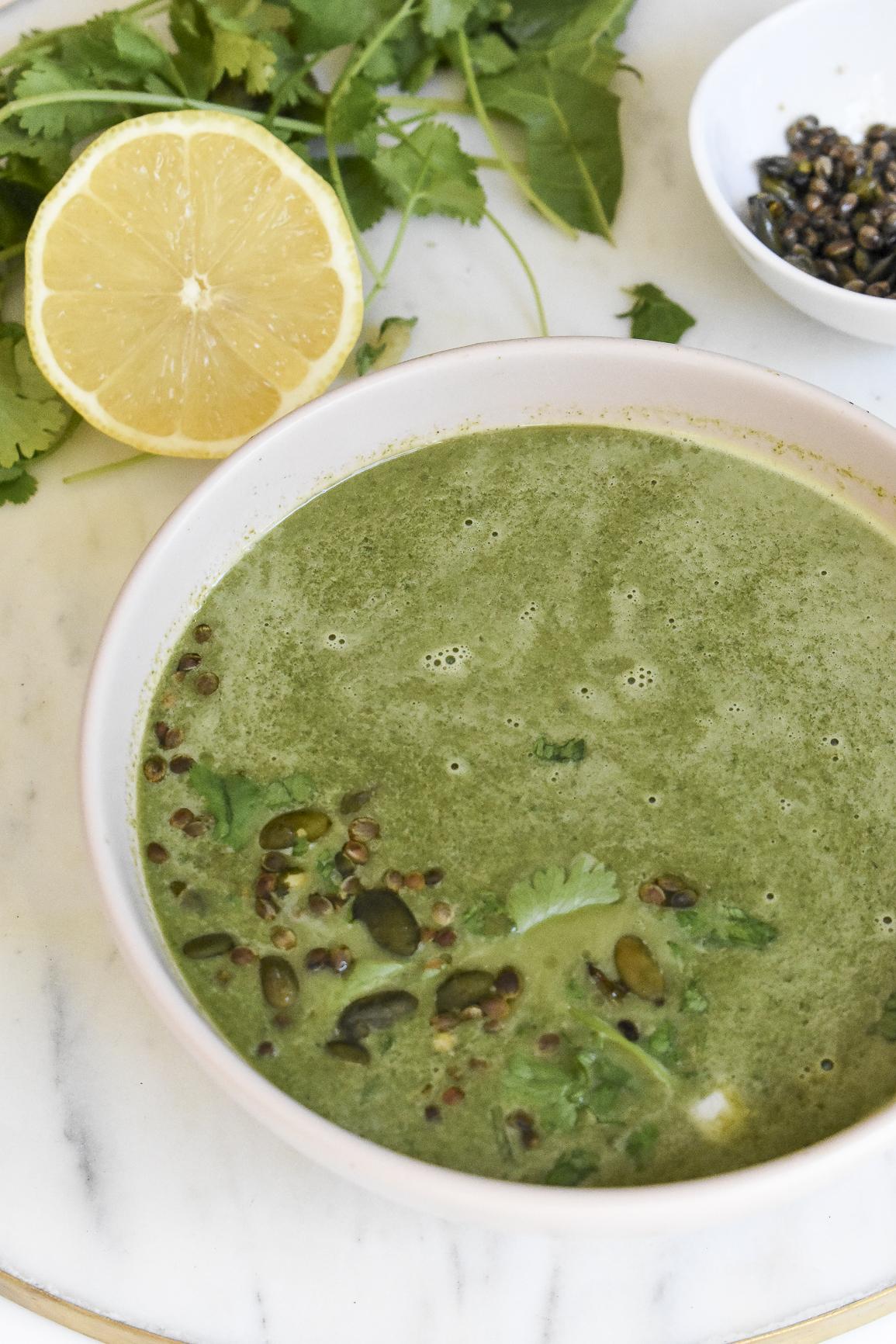 Green Swisschard Soup 8