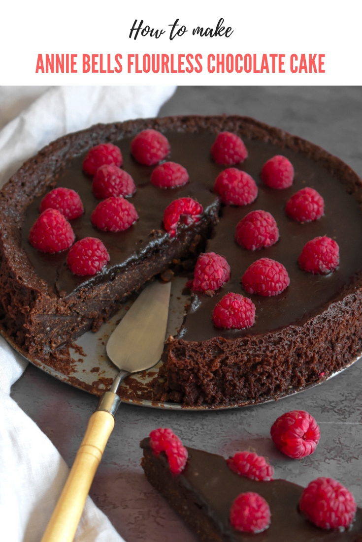 aNNIE bELLS French Flourless Chocolate Cake