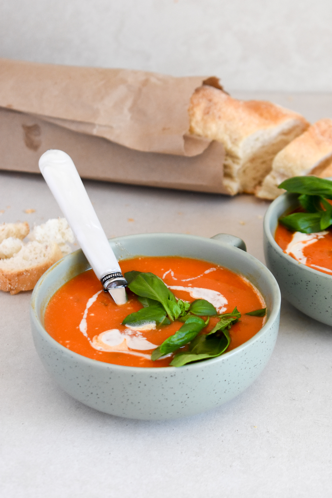 30-minute Tomato & Basil Soup
