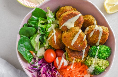 Making Falafel with Outcast Food's Easy Mix 11