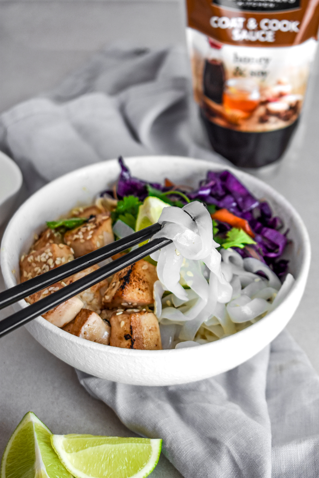 Honey & Soy Noodle Bowl