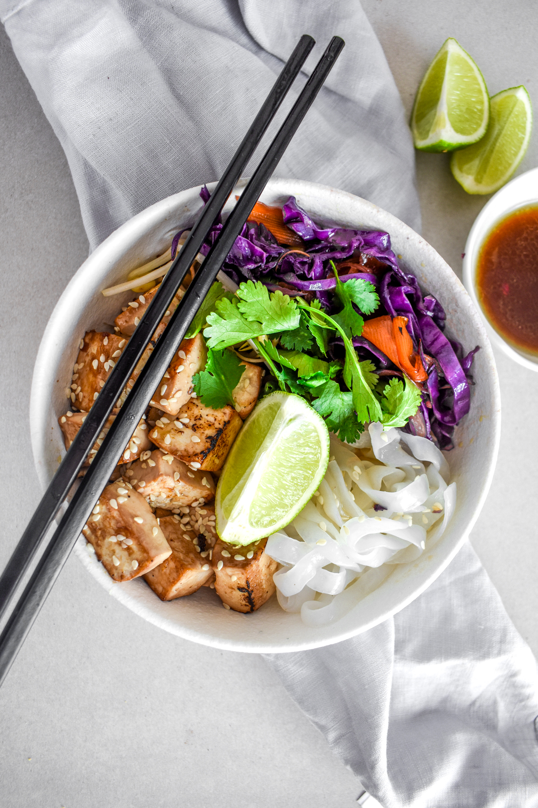 Honey & Soy Noodle Bowl with Ina Paarman's