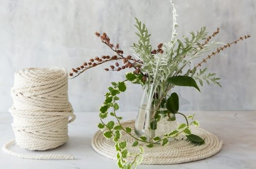 Make a rope placemat