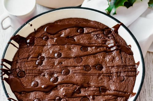 Collagen & Chocolate Pan Brownie