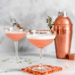 Rose Gold Gin Cocktails