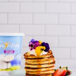 Coconut and Yoghurt Pancakes
