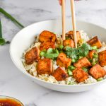 Sweet and Salty Baked Tofu