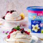 Berry Meringue Nests with Vanilla Yoghurt