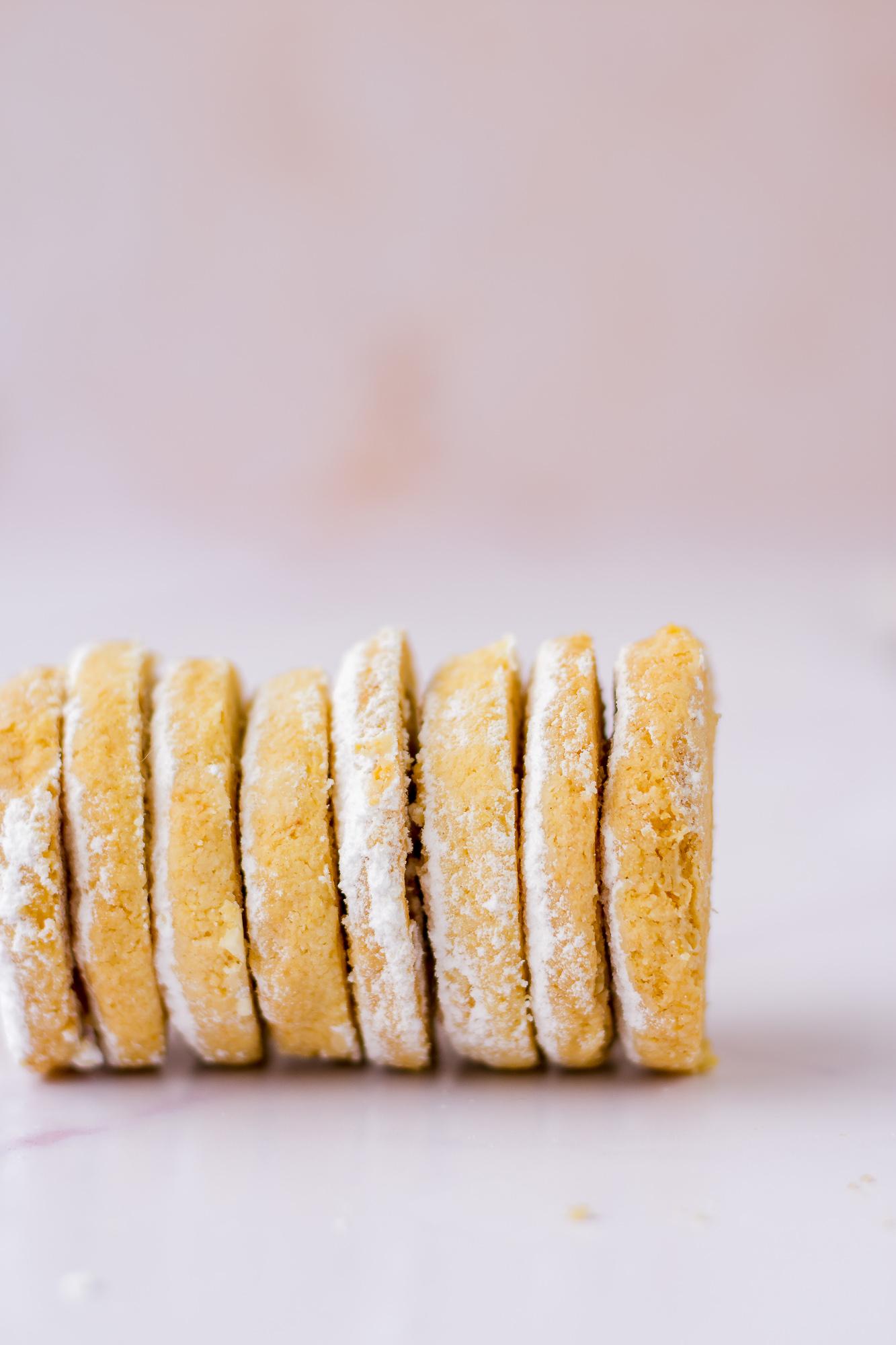 Crunchy Gluten Free Shortbread
