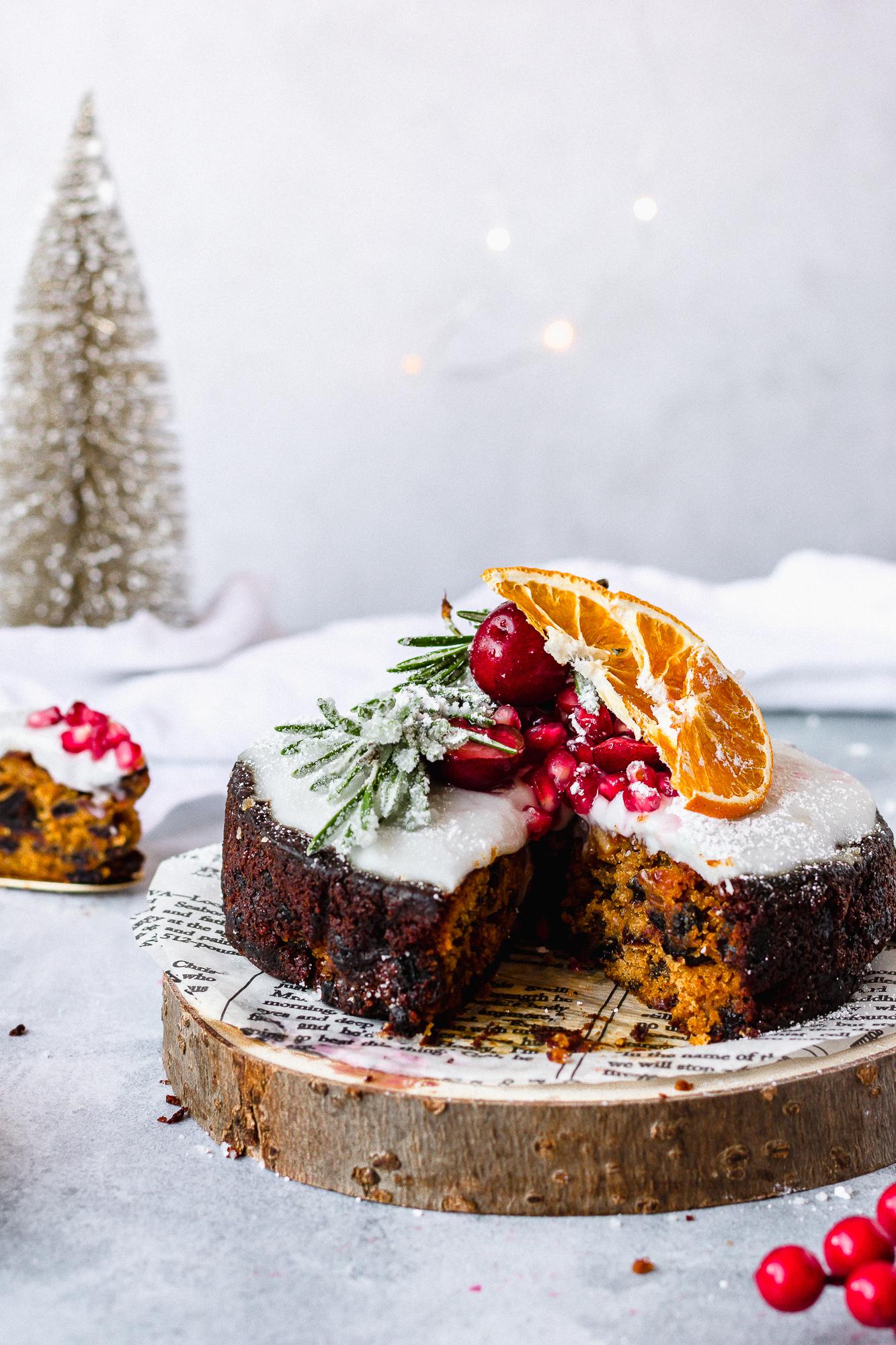 Gluten Free Christmas Fruit Cake