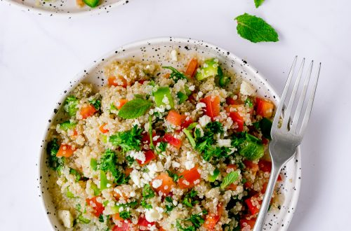 Low FODMAP Tabbouleh with Peppers