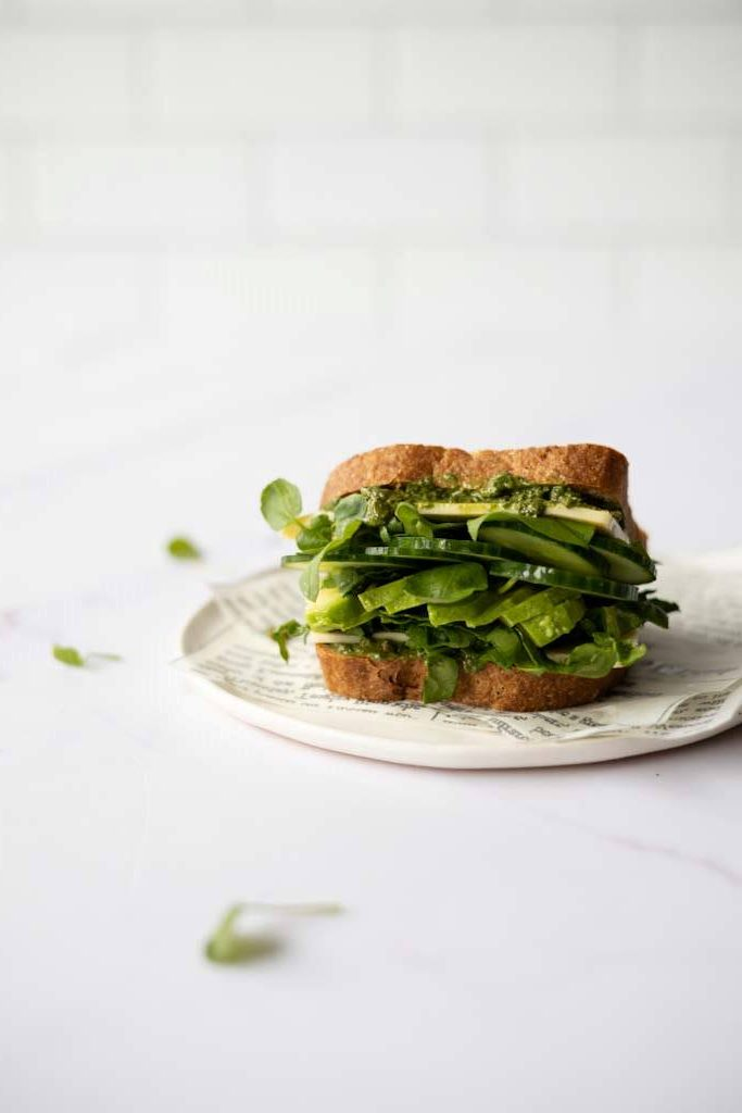 Super Green Gluten Free Sandwich